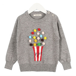 $enCountryForm.capitalKeyWord Australia - New 2019 Autumn Baby Girls Sweater Kids Knitwear Popcorn Sweaters For Girls Baby Knitted Sweater Pullover Clothes