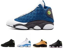 6063439ce1e 2019 He Got Game XIII 13 Italy Blue 13s black cat Hyper Royal Chicago men basketball  shoes 13s bred Phantom sports Sneaker 41-47