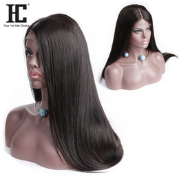 Malaysia hair lace wig online shopping - Glueless Lace Front Human Hair Wigs For Black Women Pre Plucked Brazilian Straight Lace Wig With Baby Hair Human Hair Peruvian Malaysia