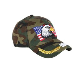 $enCountryForm.capitalKeyWord UK - hot !!Cross-border explosions! Camouflage Eagle Embroidered Baseball Cap Hat, Wheat Ear Hat, Leisure Outdoor Hat caps