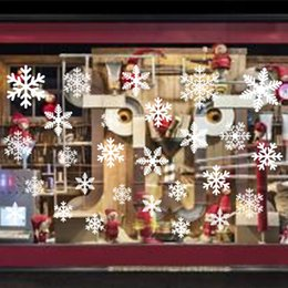 $enCountryForm.capitalKeyWord NZ - Christmas window stickers Snowflake Santa window display without glue electrostatic incognito christmas outdoor decorations Wall Sticker