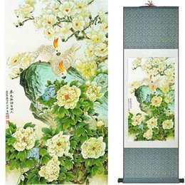 $enCountryForm.capitalKeyWord UK - Birds And Flowers Painting Silk Leaves Painting Traditional Chinese Art Painting Home Decoration Painting2019072306