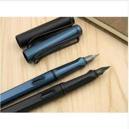 standard classico ufficio Matte nero verde Penna stilografica regalo pennino nero in Offerta