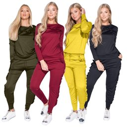 $enCountryForm.capitalKeyWord UK - women designer tracksuit long sleeve outfits hoodie legging 2 piece set skinny sweatshirt tights sport suit pullover pants hot klw0304