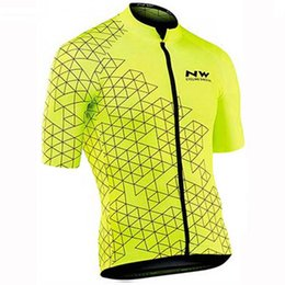 $enCountryForm.capitalKeyWord Australia - NW team Cycling Short Sleeves jersey summer new high qualityTop Brand Quality Mtb Sport Quick Dry Ropa Ciclismo Free postage