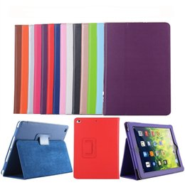 $enCountryForm.capitalKeyWord Australia - Luxury PU Leather Magnetic Smart Flip Cover Stand Kickstand Case With Sleep Wake Up Function for Apple iPad 2 3 4 Air Pro 9.7 10.5 12.8 11