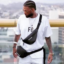 Опт 19FW Страх Божий FOG ESSENTIALS талии сумка Street Hip Hop Diagonal пакет путешествия Креста тела малый пакет Сумки Карманы Chest Сумки HFYMBB072