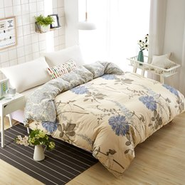 $enCountryForm.capitalKeyWord Australia - 1 Piece Chrysanthemum Duvet Cover with Zipper Cotton Quilt or Comforter or Case Pastoral Printing Twin Full Queen25