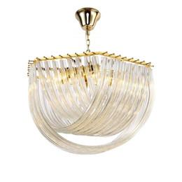 $enCountryForm.capitalKeyWord Australia - Post-modern Pendant Lighting with Bend Glass Shade Luxury Design Glass Chandeliers Light Dia 50cm 65cm 80cm 110V 220V Home Light Decor