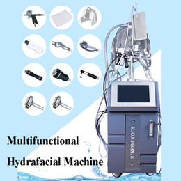 $enCountryForm.capitalKeyWord Australia - 10 in 1 Water Hydra facial Dermabrasion LED PDT Mask Oxygen Jet Cold Hammer BIO Face Lift Ultrasonic Machine hydra facial Equipment