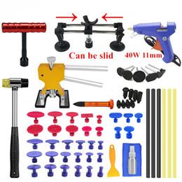 Bridges tools online shopping - PDR Tools Kits Car Auto Body Paintless Dent Removal Repair Tool Dent Lifter Kit Bridge Glue Puller Set