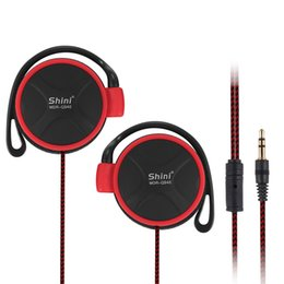 Pc Portable Games Canada - Shini Q940 EarHook Headphones For Mobile Computer Mp3 Player Game PC 3.5mm Portable Earphones Headset