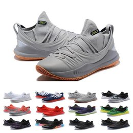 curry blue shoes Australia - Big Sale Stephen Basketball Shoes Curry 5 Mens Womens Currys 5s Championship MVP Finals Sports training Trainers Shoe Sneakers
