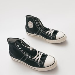 Canvas One Shoes NZ - Women Men Unisex Canvas Trainers Shoes 163321C All One Star Lucky 1970s Taylor Lucky Lace Up High Top Sneaker Shoes Size 35-44