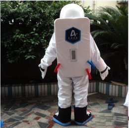 space suits costumes NZ - Wholesale-2018 High quality hot Space suit mascot costume Astronaut mascot costume with Backpack glove,shoesFree Shipping