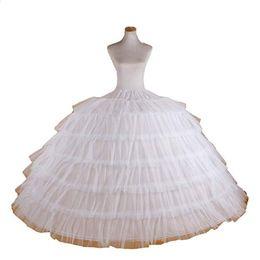 $enCountryForm.capitalKeyWord Australia - Big White Petticoats Super Puffy Ball Gown Slip Underskirt For Adult Wedding Formal Dress Brand New Large 5 Hoops Long