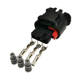 $enCountryForm.capitalKeyWord UK - AMP TE 1488991-1 3Pin reversing radar probe   electric eye plug connector for Ford, Land Rover,Range Rover, etc.3 Pin