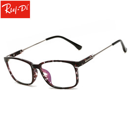 3ab13f42cd TT371 Square Computer Glasses Anti Blue Light Blocking Glasses Clear Eye  Glass Frames for Men Retro Men s Anti Blue