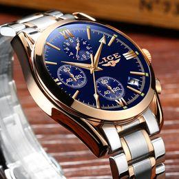 $enCountryForm.capitalKeyWord Australia - Watch Men Brand Luxury Fashion Quartz Sport Watches Men Full Steel Military Clock Waterproof Gold Men's Watch Relogio Masculino Y19061905