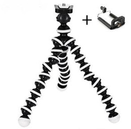 Manfrotto tripods online shopping - New Phone Holder Flexible Octopus Tripod Bracket selfie Expanding stand mount manfrotto support Car style For Mobile Phone Camera