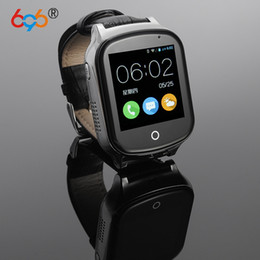 Android Smart Watch Phone 3g NZ - 696 A19 3G Smart GPS Tracker Watch Kids Oldman Wristwatch WIFI Locator With Camera Voice Message SOS Free APP IOS Android Phone