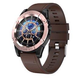 $enCountryForm.capitalKeyWord Australia - Smart Watch Phone Men Support TF SIM Card Pedometer HD Camera Round Bluetooth Smartwatch Fitness Tracker for Android IOS Phone