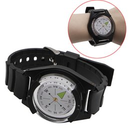 compass watch strap UK - NEW Tactical WRIST COMPASS - Military Outdoor Survival Watch Strap Band Bracelet