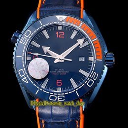 $enCountryForm.capitalKeyWord Australia - High-quality Planet Ocean 600m Co-Axial 215.92.44.21.99.001 Blue Dial Ceramics Bezel Miyota Automatic Mens Watch Blue Case Leather Strap