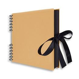 $enCountryForm.capitalKeyWord NZ - 20 40 Pages Scrapbook Diy Photo Album Craft Paper Valentine's Day Gifts Wedding Guest Anniversary Travel Memory Book C19041901