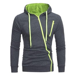 Male Clothing Styles UK - 2018 New Arrival Hoodie Sweatshirt Brand-Clothing Autumn Solid Color Men Fashion Slim Casual Style Pullover Male Hooded