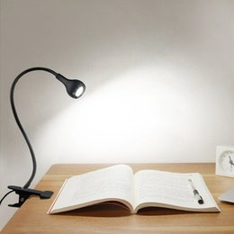 Student Study lamp online shopping - LED Desk Lamps With Clip USB Power Table Night Lamp Children Students Bedside Led Book Lights With Switch Study Reading Work Table Lamps