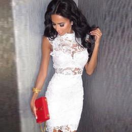 $enCountryForm.capitalKeyWord Australia - Women's Top Club Party Pencil Dress Black White Slim Red Coat Dress Band Sleeveless Summer Clubwear Mini, Figure Blonde Dress Y19070901
