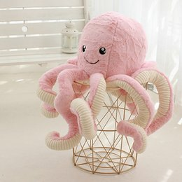 bio products Canada - Simulation Octopus Doll Octopus Plush Toy Big Octopus Doll Ocean Seabed Bio Squid