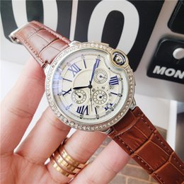 $enCountryForm.capitalKeyWord Australia - 2019 High quality luxury cowhide leather men's watch all work water diamonds British fashion business men mens watches Relogio Masculino