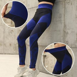 cotton stretch yoga pants Australia - Blended Cotton Trousers Yoga Leggings Yoga Pants Casual Stretch Athletic High Waist Outdoor Sport Gym Fitness