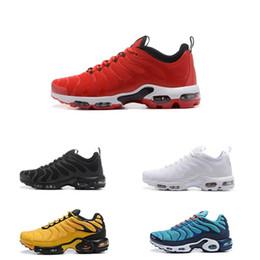 Оптовый 2019 Лучшего качество WMNS Plus Tn Mens Se кроссовки Мода черная красные белая спортивный тренер женщина Поверхностная дышащая повседневная обувь на Распродаже