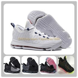 Lowest Kd Shoes Australia - Cheap Kevin Durant Basketball Shoes KD 9 USA OLYMPIC White University Red Blue PREMIERE Sports Shoes KD VIIII (9) Sneaker cheap Men Athletic