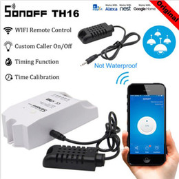 $enCountryForm.capitalKeyWord Australia - SONOFF TH16 SI7021 Humidity Sensor Switch Wireless Probe Temperature Monitor Monitoring Wifi Smart Home Remote Controller