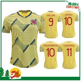 2843e8b12 Colombia Jerseys Canada - new 2019 Colombia Soccer Jerseys home away Jersey  JAMES FALCAO CUADRADO AGUILAR