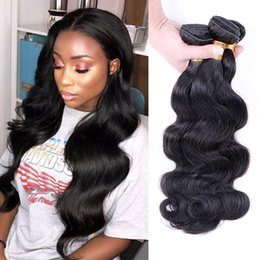 $enCountryForm.capitalKeyWord NZ - 8A Peruvian Virgin Hair Body Wave Cheap Peruvian Brazilian Indian Malaysian Hair 100% Human Hair Weaves Body Wave 4 Bundles