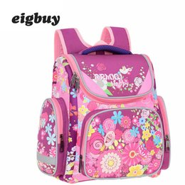 $enCountryForm.capitalKeyWord Australia - Children School Bags Backpacks For Girls Foral Pattern Orthopedic Backpack Kids Primary School Bags Boys Car Knapsack Mochila
