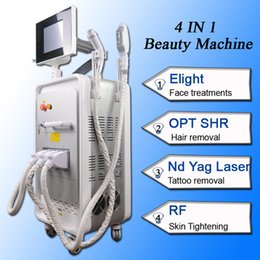 tattoo bodies NZ - Q swtich nd yag laser tattoo removal beauty salon machine birthmark remover opt ipl shr hair removal rf Body Skin Tightening