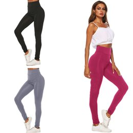 $enCountryForm.capitalKeyWord Australia - 3 Colors Women's Sports Pants Designer Leggings Summer Tights Skinny Bodycon Pants Milk Fiber Quick Dry Jogging Trousers Tracksuit 2019 C415