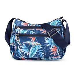 $enCountryForm.capitalKeyWord UK - Women Shoulder Bag Nylon Handbag Printing Women Messenger Bags Top-handle Famous Brand Casual Floral Crossbody Bag