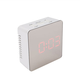 timepiece clocks Australia - Mirror Surface Multicolo Timepiece LED Display Timer Kitchen Alarm Clock Automatic Multi-Functional Time Prompt Home Horologe