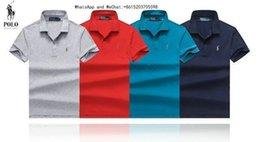 Cotton Thermal Wear Australia - 2019 new pattern European Short Sleeve Men's Wear Wind Lapel Pure Cotton T-shirt Male