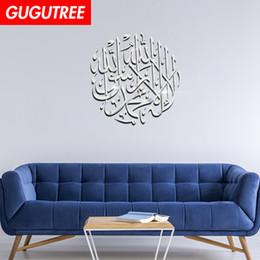 $enCountryForm.capitalKeyWord Australia - Decorate Home 3D Muslim letter cartoon mirror art wall sticker decoration Decals mural painting Removable Decor Wallpaper G-418