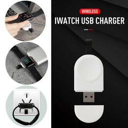 $enCountryForm.capitalKeyWord Australia - Portable Wireless Charger for Apple Watch Charger 4 3 2 1 Series Wireless Magnetic Charging Fast USB Charger