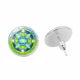 $enCountryForm.capitalKeyWord UK - Style 1 cross-border hot fashion earrings Mancha Luo time gemstone stud earrings Silver earrings Europe and America custom jewelry wholesale
