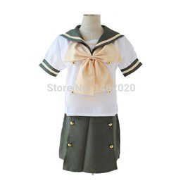 17e17075a08 Shakugan No Shana Cosplay Summer Lolita Dress Cosplay Costumes Sailor Suit  School Uniforms Halloween Clothing Set
